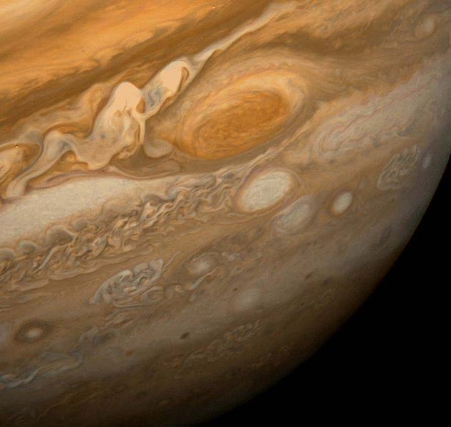 Great Red Spot on Jupiter