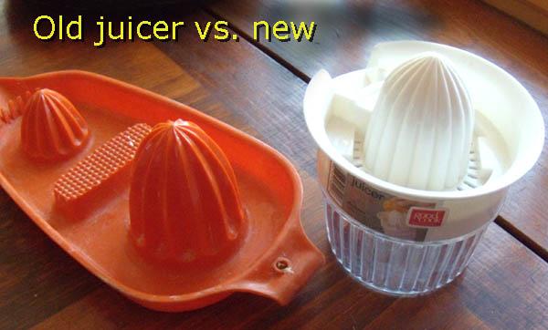 """The """"old"""" orange juicer always worked fine."""