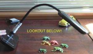 desk lamp tips over